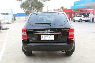 2009 Hyundai Tucson 08 Upgrade City SX Black 4 Speed Automatic Wagon