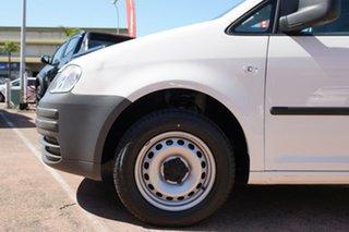 2009 Volkswagen Caddy 2K MY08 1.6 White 5 Speed Manual Van.