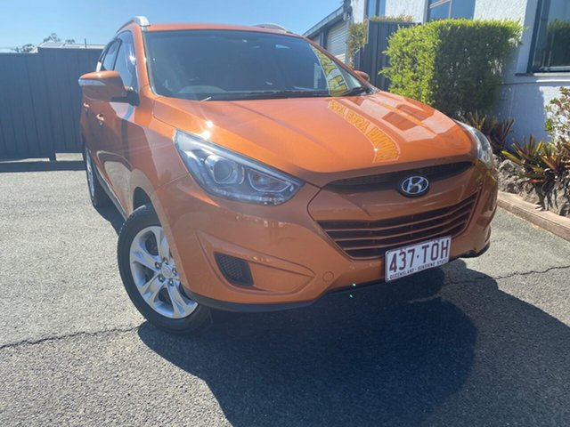 Used Hyundai ix35 LM2 Active, 2013 Hyundai ix35 LM2 Active Orange 6 Speed Sports Automatic Wagon