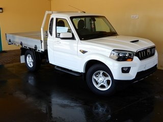 2018 Mahindra Pik-Up S10 MY18 2WD White 6 Speed Manual Utility.