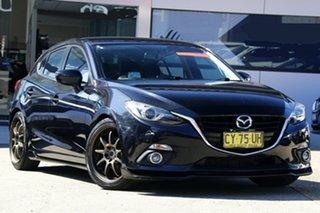 2014 Mazda 3 BM SP25 GT Black 6 Speed Automatic Hatchback.