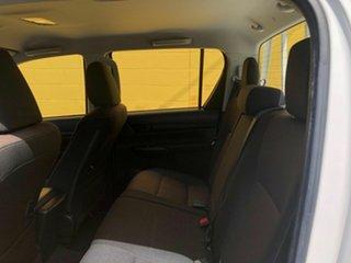 2017 Toyota Hilux GUN136R SR Double Cab 4x2 Hi-Rider White 6 Speed Manual Utility