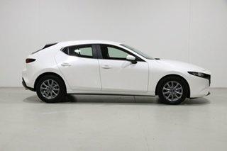 2019 Mazda 3 BP G20 Pure White 6 Speed Automatic Hatchback