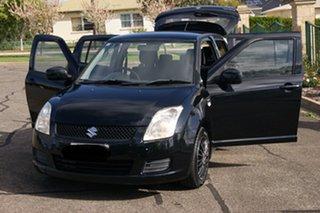 2008 Suzuki Swift EZ 07 Update Black 4 Speed Automatic Hatchback