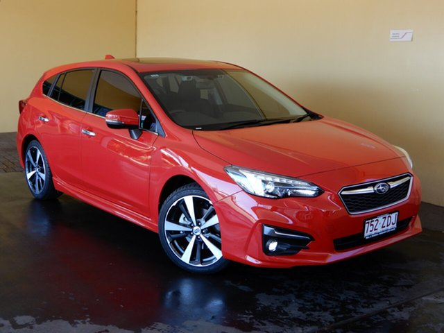 Used Subaru Impreza MY19 2.0I-S (AWD), 2019 Subaru Impreza MY19 2.0I-S (AWD) Red Continuous Variable Hatchback