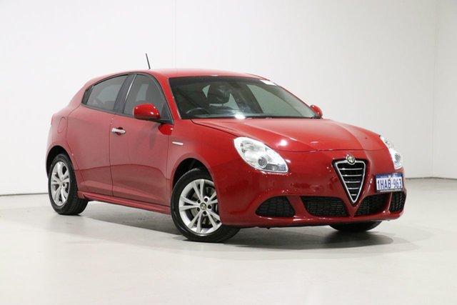 Used Alfa Romeo Giulietta  Progression 1.4, 2014 Alfa Romeo Giulietta Progression 1.4 Red 6 Speed Auto Dual Clutch Hatchback