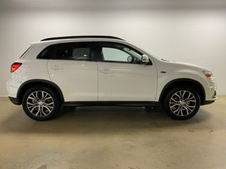2019 Mitsubishi ASX XC MY19 Exceed (2WD) White Continuous Variable Wagon.