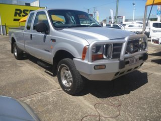 2005 Ford F250 RN XLT Super Cab Silver 4 Speed Automatic Utility.