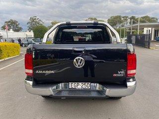 2019 Volkswagen Amarok 2H MY19 TDI550 4MOTION Perm Highline Black 8 Speed Automatic Utility