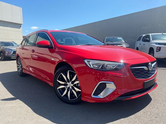 Used Holden Commodore  , 2019 Holden Commodore Red Automatic Wagon