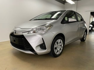 2018 Toyota Yaris NCP130R MY18 Ascent Silver 4 Speed Automatic Hatchback