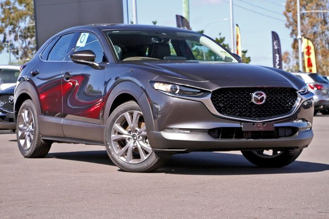 Demo Mazda CX-30 DM4WLA G25 SKYACTIV-Drive i-ACTIV AWD Touring, 2020 Mazda CX-30 DM4WLA G25 SKYACTIV-Drive i-ACTIV AWD Touring Machine Grey 6 Speed Sports Automatic
