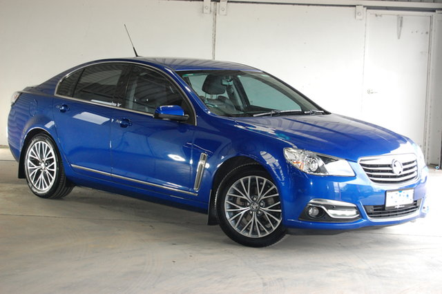 Used Holden Calais VF II MY17 , 2017 Holden Calais VF II MY17 Blue 6 Speed Sports Automatic Sedan