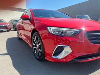 2019 Holden Commodore Red Automatic Wagon.