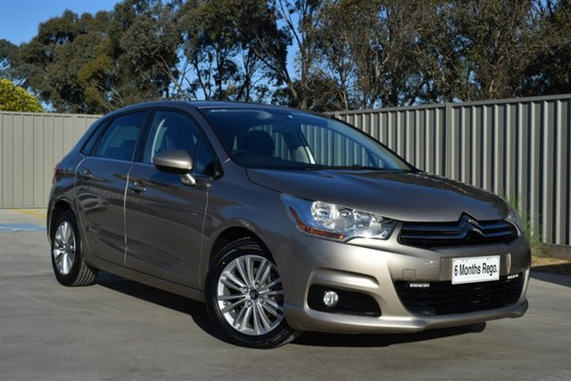 Used Citroen C4 B7 e-HDi EGS Seduction Echuca, 2011 Citroen C4 B7 e-HDi EGS Seduction Gold 6 Speed Sports Automatic Single Clutch Hatchback