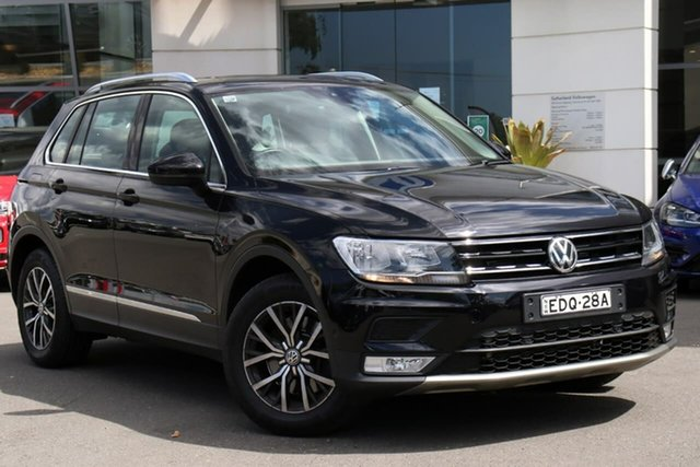 Used Volkswagen Tiguan 5N MY17 132TSI DSG 4MOTION Comfortline, 2016 Volkswagen Tiguan 5N MY17 132TSI DSG 4MOTION Comfortline Black 7 Speed
