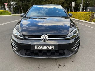2019 Volkswagen Golf 7.5 MY19.5 110TSI DSG Highline Black 7 Speed Sports Automatic Dual Clutch.
