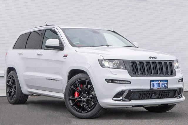 Used Jeep Grand Cherokee WK MY2013 SRT-8 Alpine, 2012 Jeep Grand Cherokee WK MY2013 SRT-8 Alpine White 5 Speed Sports Automatic Wagon