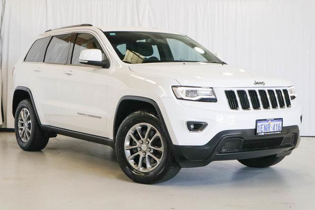 Used Jeep Grand Cherokee WK MY2014 Laredo, 2014 Jeep Grand Cherokee WK MY2014 Laredo White 8 Speed Sports Automatic Wagon