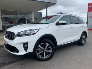 2019 Kia Sorento SLi Clear White Sports Automatic Wagon.