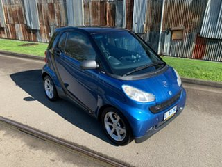 2008 Smart ForTwo 451 MY08 Pulse Blue 5 Speed Seq Manual Auto-Clutch Coupe.