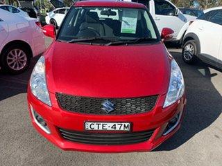 2014 Suzuki Swift FZ MY14 GL Navigator Red 4 Speed Automatic Hatchback.