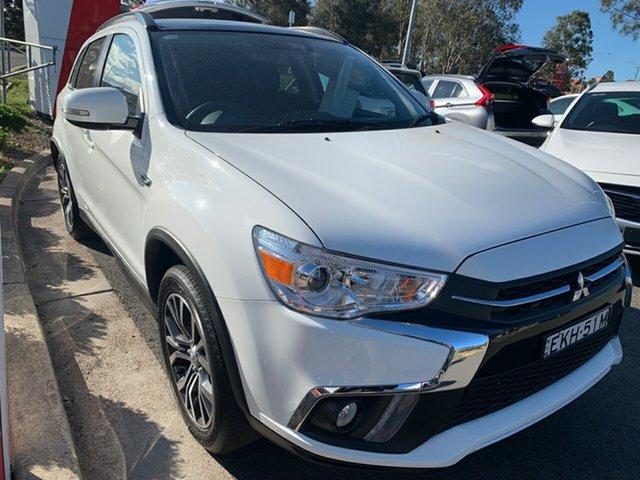 Used Mitsubishi ASX XC MY19 Exceed 2WD, 2019 Mitsubishi ASX XC MY19 Exceed 2WD White 1 Speed Constant Variable Wagon