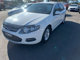 2014 Ford Falcon FG MkII XT White 6 Speed Sports Automatic Sedan.