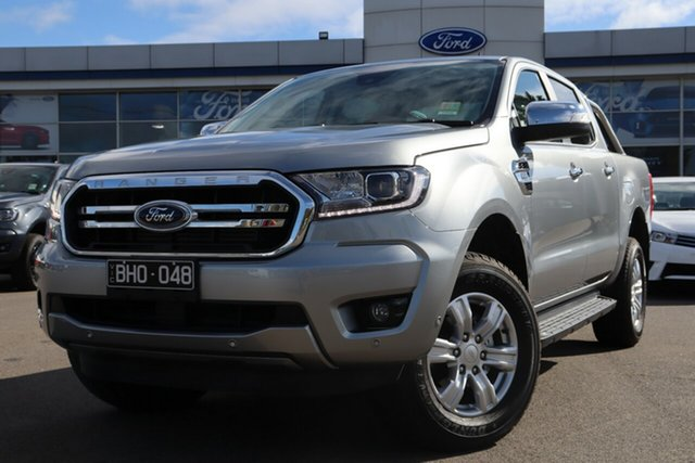Demo Ford Ranger PX MkIII 2020.75MY XLT Deer Park, 2020 Ford Ranger PX MkIII 2020.75MY XLT Aluminium 6 Speed Sports Automatic Double Cab Pick Up