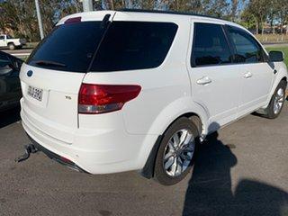 2015 Ford Territory SZ MkII TS Seq Sport Shift White 6 Speed Sports Automatic Wagon