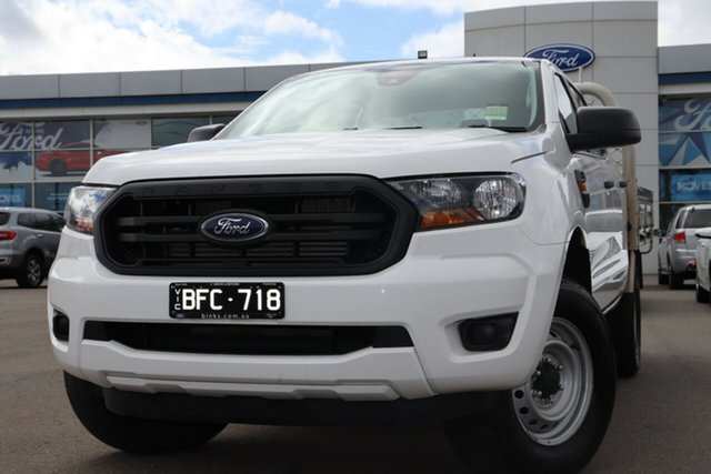 Used Ford Ranger PX MkIII 2019.75MY XL, 2019 Ford Ranger PX MkIII 2019.75MY XL Arctic White 6 Speed Sports Automatic Double Cab Chassis