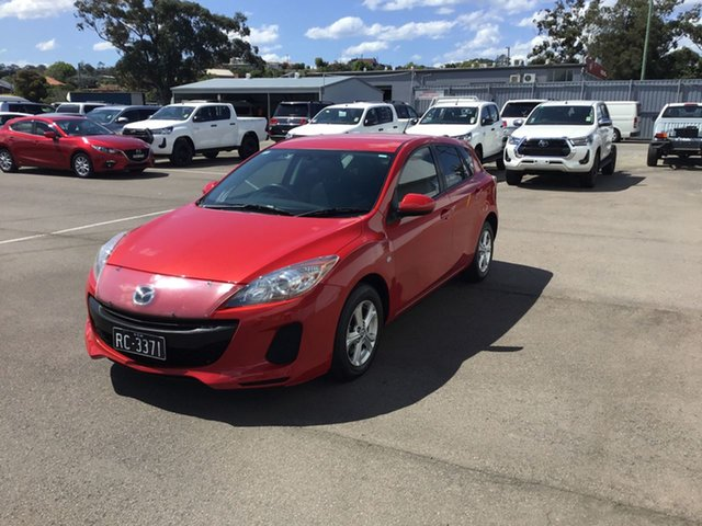 Used Mazda 3 BM5478 Neo SKYACTIV-Drive, 2013 Mazda 3 BM5478 Neo SKYACTIV-Drive Red 6 Speed Sports Automatic Hatchback