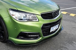 2014 Holden Ute VF MY14 SV6 Ute Green 6 Speed Manual Utility