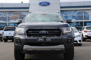 2020 Ford Ranger PX MkIII 2020.75MY Wildtrak Meteor Grey 6 Speed Sports Automatic Double Cab Pick Up.