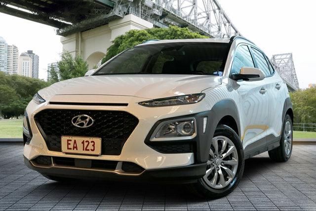 Used Hyundai Kona OS.2 MY19 Go 2WD, 2018 Hyundai Kona OS.2 MY19 Go 2WD White 6 Speed Sports Automatic Wagon