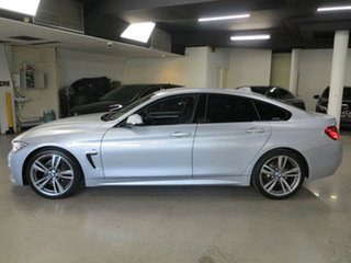 2015 BMW 4 Series F36 420i Gran Coupe M Sport Silver 8 Speed Sports Automatic Hatchback