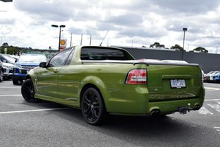 2014 Holden Ute VF MY14 SV6 Ute Green 6 Speed Manual Utility.
