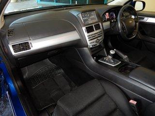 2013 Ford Falcon FG MK2 XR6 Blue 6 Speed Manual Utility.