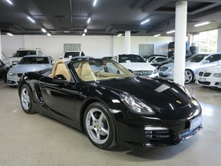 2013 Porsche Boxster 981 PDK Black 7 Speed Sports Automatic Dual Clutch Convertible.