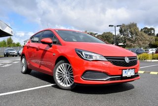 2018 Holden Astra BK MY18.5 R Red/Black 6 Speed Sports Automatic Hatchback.