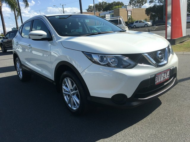 Used Nissan Qashqai J11 ST, 2017 Nissan Qashqai J11 ST Ivory Pearl 1 Speed Constant Variable Wagon