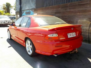 2001 Holden Commodore VX II S Red 4 Speed Automatic Sedan