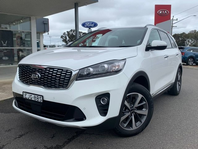 Used Kia Sorento SLi Goulburn, 2019 Kia Sorento SLi Clear White Sports Automatic Wagon