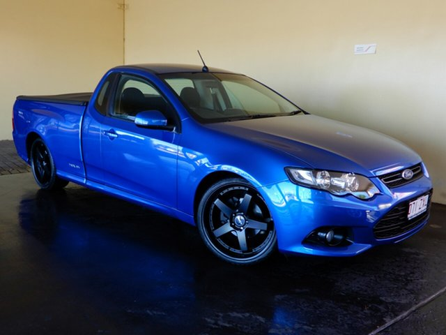 Used Ford Falcon FG MK2 XR6, 2013 Ford Falcon FG MK2 XR6 Blue 6 Speed Manual Utility