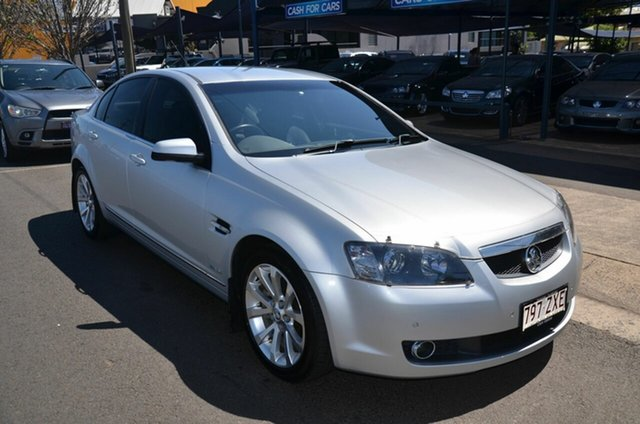 Used Holden Calais VE MY09.5 V Toowoomba, 2009 Holden Calais VE MY09.5 V Silver 6 Speed Automatic Sedan