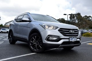 2018 Hyundai Santa Fe DM5 MY18 Active X 2WD Billet Silver 6 Speed Sports Automatic Wagon.