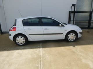2008 Renault Megane II B84 Phase II Expression White Sports Automatic Hatchback.