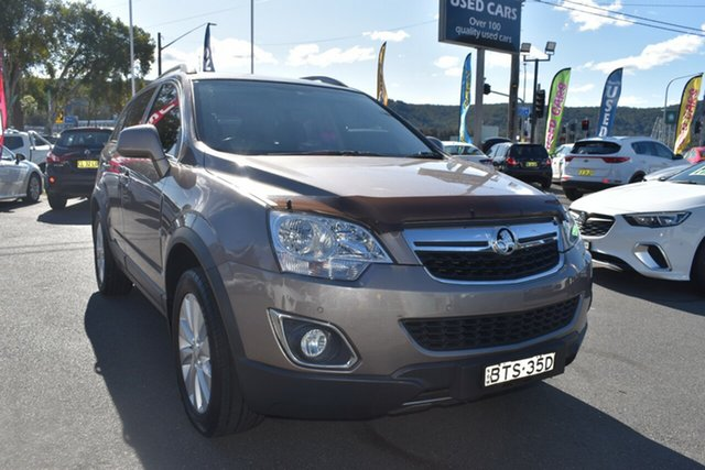 Used Holden Captiva CG MY14 5 LT, 2014 Holden Captiva CG MY14 5 LT Sandy Beach 6 Speed Manual Wagon