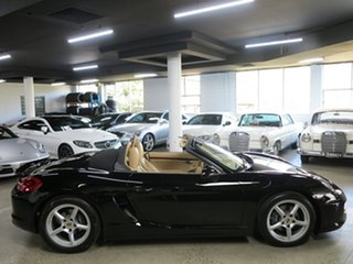2013 Porsche Boxster 981 PDK Black 7 Speed Sports Automatic Dual Clutch Convertible