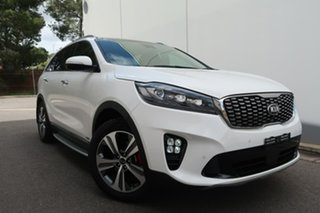 2019 Kia Sorento UM MY19 GT-Line AWD White 8 Speed Sports Automatic Wagon.